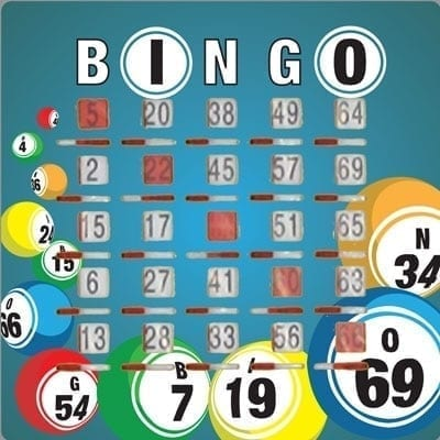 Bingo Ball Slide Card 10 - Pack