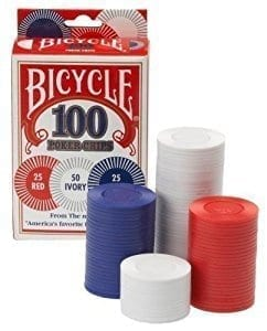 Bicycle Poker Chips- CLOSEOUT