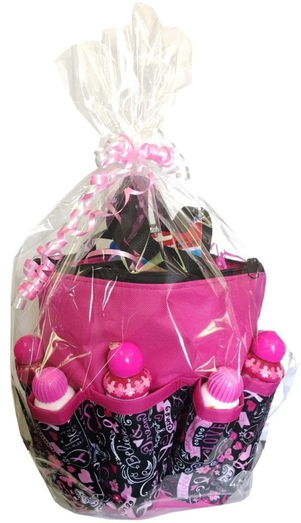 Cancer Awareness 10 Pocket Gift Bingo Bag