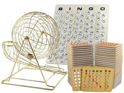 NEW – Extra Large Professional Brass Ping Pong Cage Kit w/25 Cards