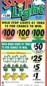 Stop Light Event Ticket STL1-595ct
