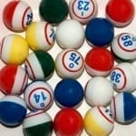 Deluxe 5-Color Bingo Ball