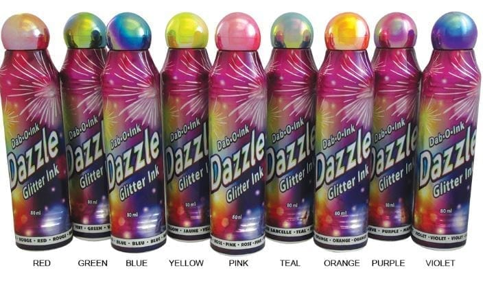WOW! Dazzle Glitter 3oz Bingo Daubers – LOWEST PRICE!