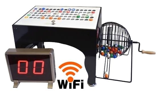 NEW- Deluxe Speedy Electronic Bingo Machine