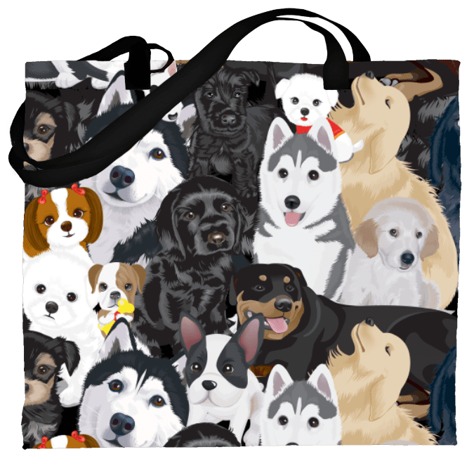 Bingo Tote –  Loveable Dogs