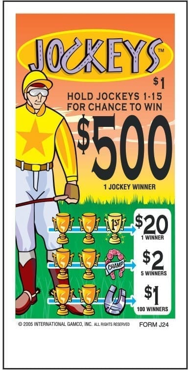 NEW- Jockeys - Event Ticket