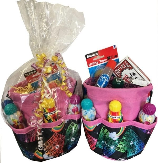 "SALE- Stuffed ""Celebration"" Bingo Bag"