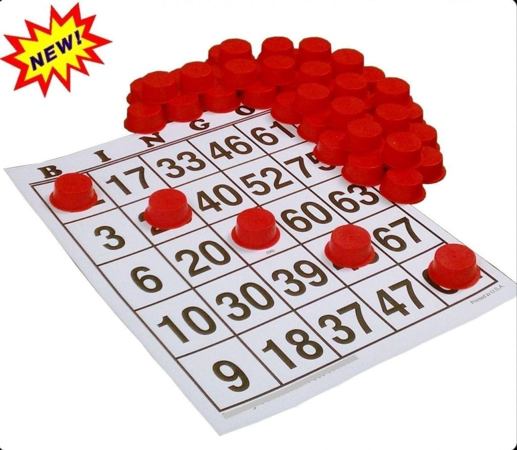 Large Bingo Chips