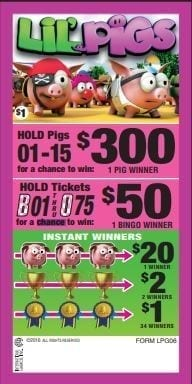 NEW- Lil' Pigs – Event Ticket