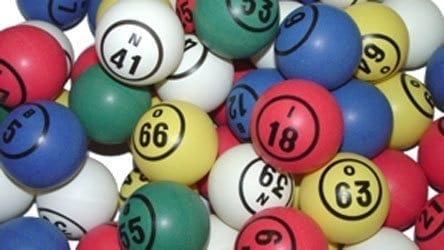 Multi Color Single Number Bingo Ball Set