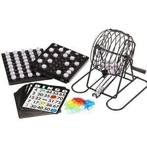 Mini Bingo Cage Set