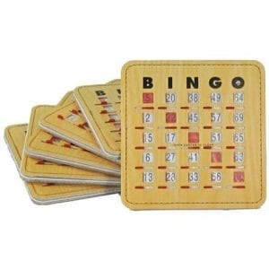 SALE- 50 Pack Deluxe Heavy Weight Quick Clear Bingo Slide Card