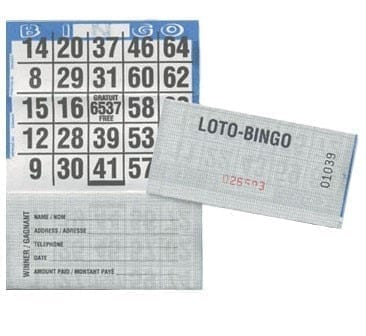 LOWEST PRICE- Folded Bingo Cards – 50 Bingo Cards – CLOSEOUT
