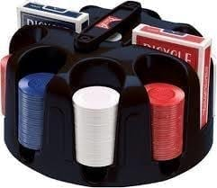 Bicycle Revolving Poker Chip Rack – CLOSEOUT