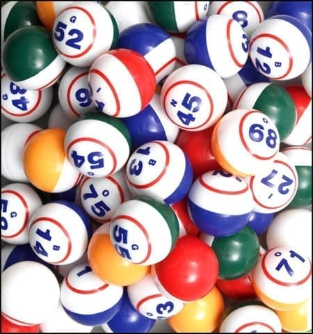 Arrow Samson Bingo Balls