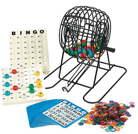 Party Bingo Cage Set