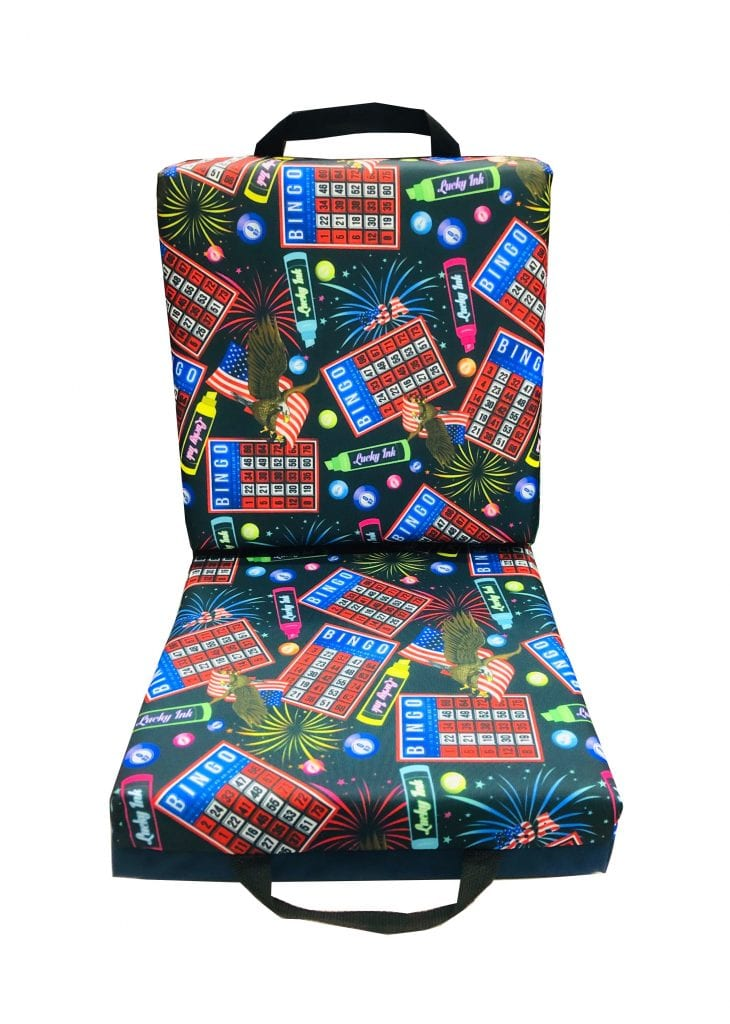 Bingo USA Double Seat Cushion – Blue