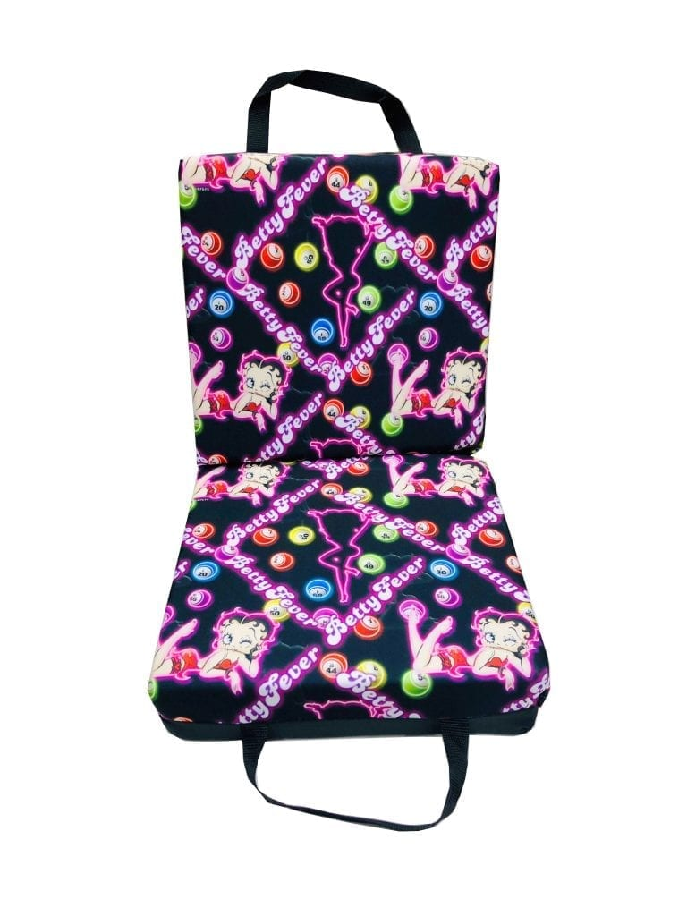 NEW- Betty Fever Double Seat Cushion – Black