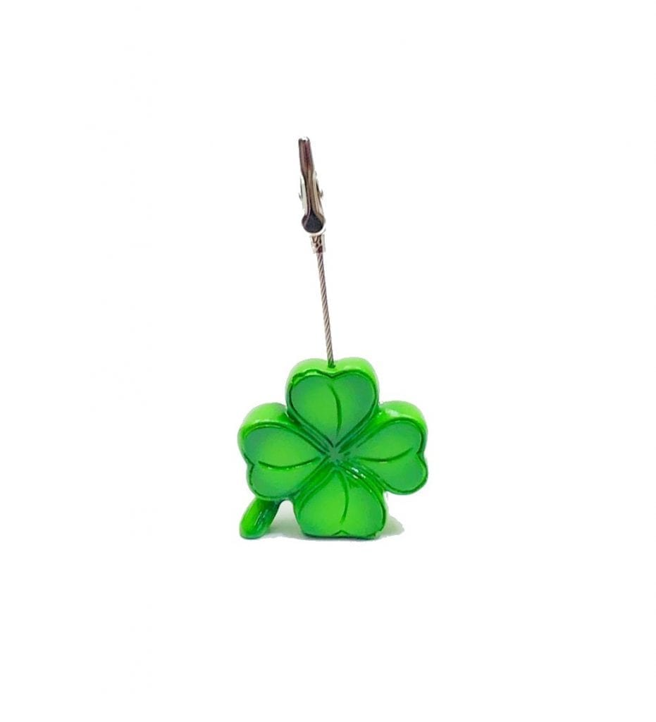 Lucky 4 Leaf Clover Ticket Holder