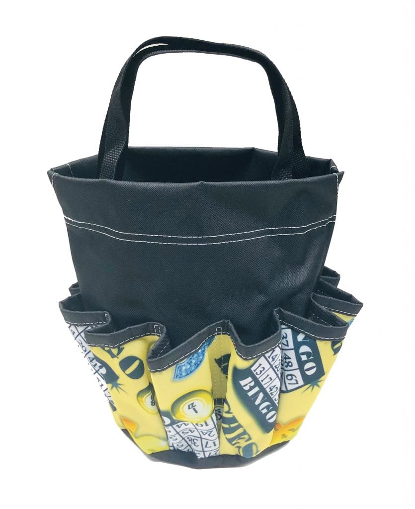 Riches 10 Pocket Dauber Bag w/Velcro – Black