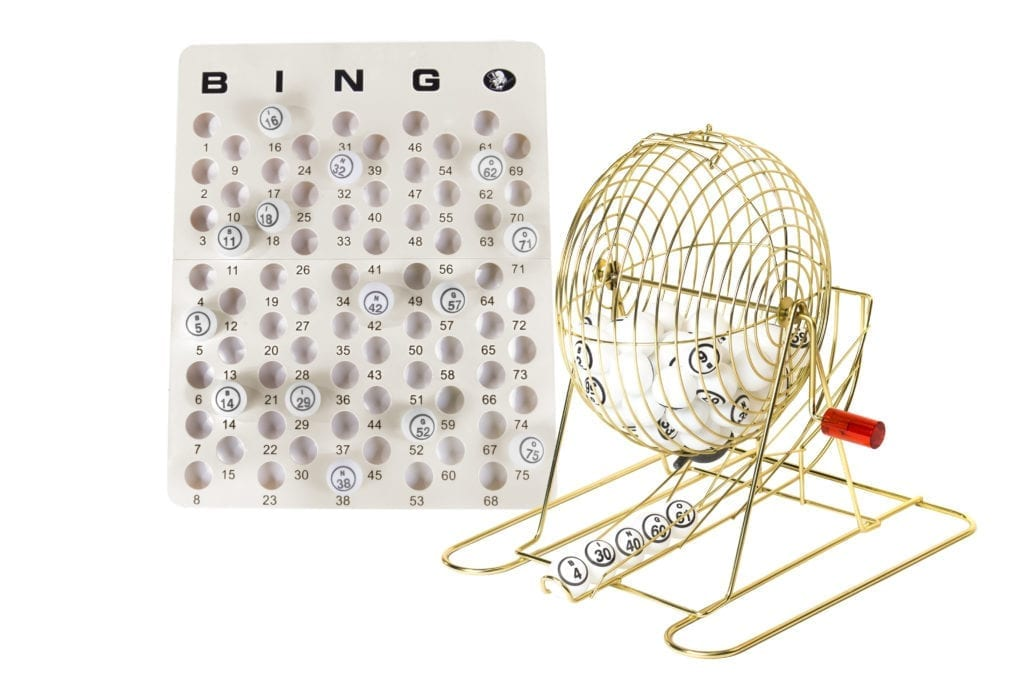 Large Brass Ping Pong Cage Set