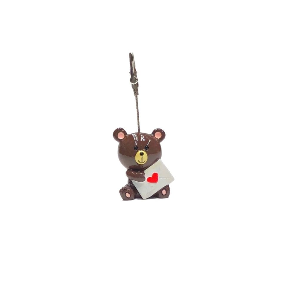 Teddy Bear Ticket Holder