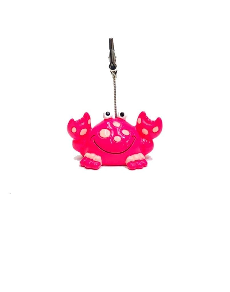 Colorful Crab Bingo Ticket Holder