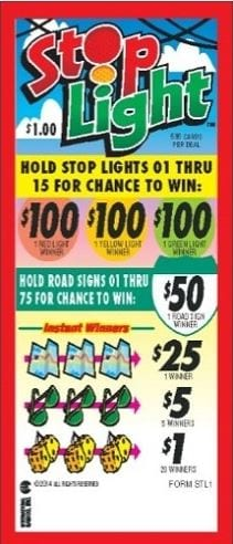 Stop Light Event Ticket 595ct