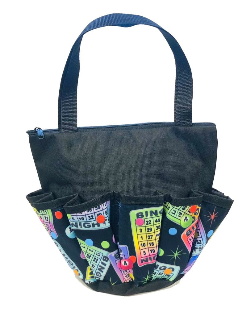 Rainbow Cards – 10 Pocket Dauber Bag w/Zipper – Black