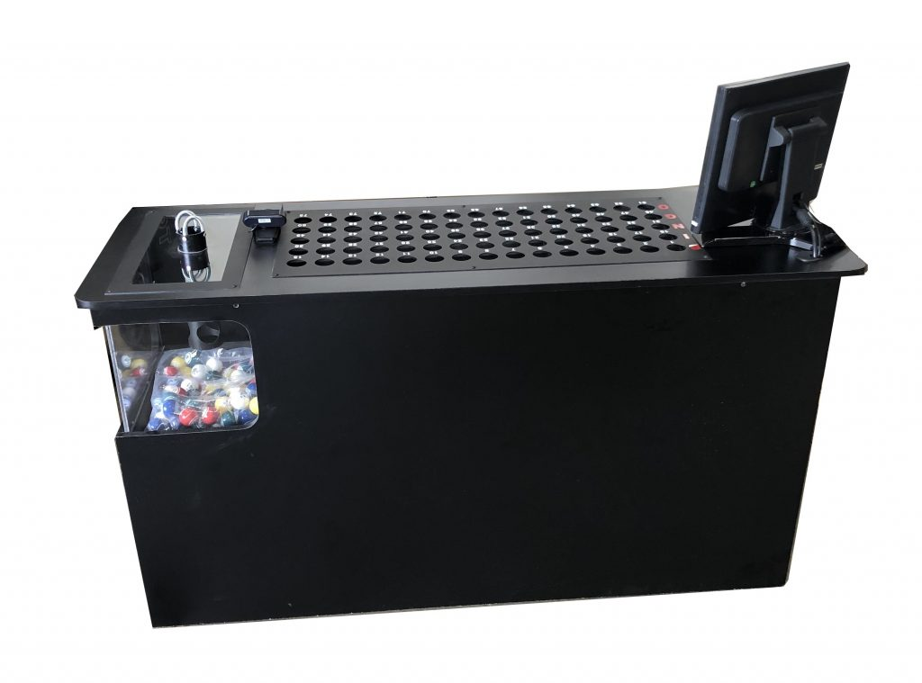 NEW- Excalibur Bingo Console for Use with HDTV's – No Flashboards Required – Built In Verification