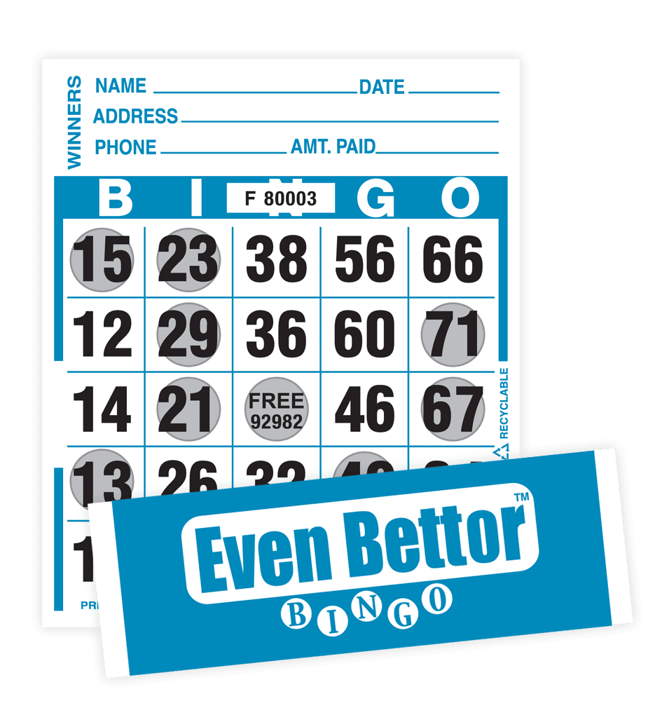 Even Better Bingo Paper Pkg – 1000