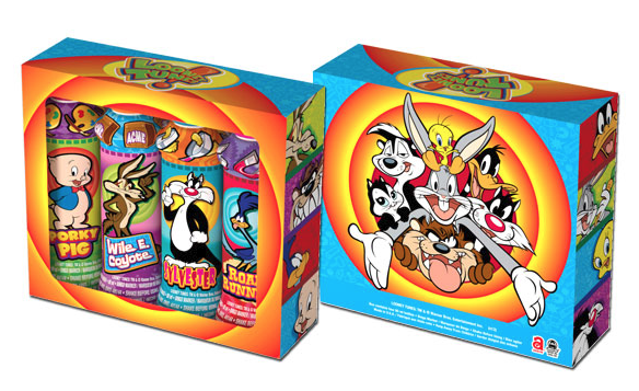 Looney Tunes Gift Set Box (4 Pack)