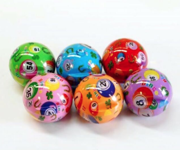 NEW- Designer Magnetic Bingo Ball with 100 Chips