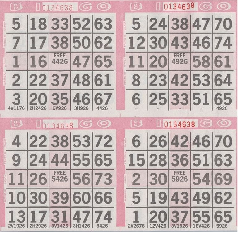 4 on Square Postage Stamp w/ 4 Corners Pattern Paper 750 pkg- CLOSEOUT