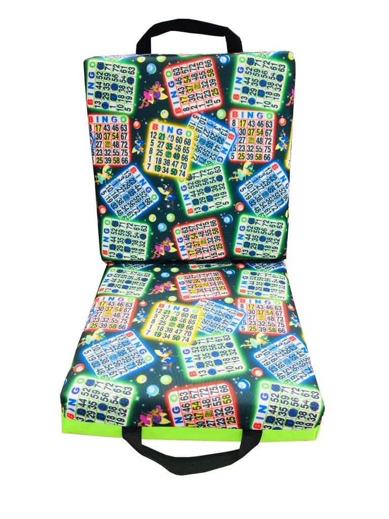 NEW- Lucky Bingo Double Seat Cushion – Lime