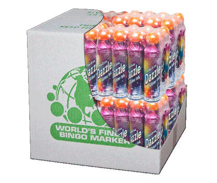 Case of 144 Bingo Daubers 3oz Dazzle