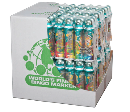Case of 144 Bingo Daubers 4oz Sunsational