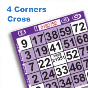 4 Corners & Small Cross Pattern Paper
