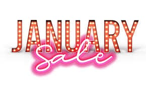 JANUARY SALE Items - Click To Shop!